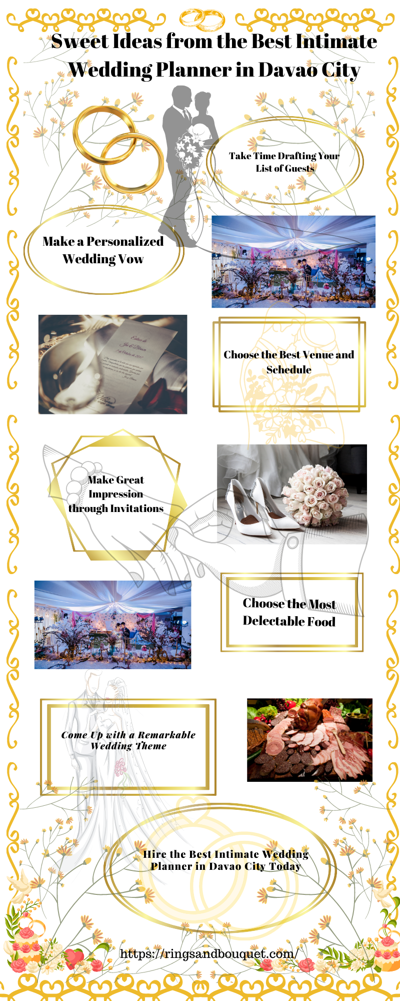 Sweet Ideas from the Best Intimate Wedding Planner in Davao City 1